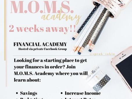 Money Moves Monday | M.O.M.S. Academy by Speak Sakia | HAY Online Financials