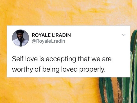 HAY Online Quotes | Transformational Speaker Discusses Self Love Worthiness | Royale L'radin Speaks