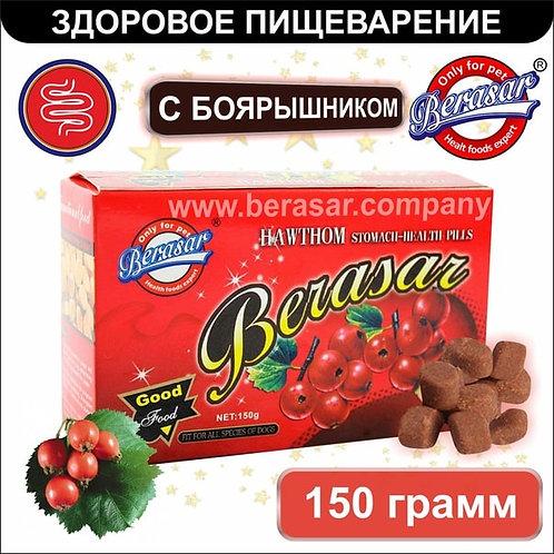Добавка с боярышником для здорового пищеварения 150 гр. Berasar (Берасар).