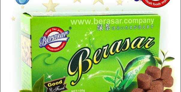 Дезодорирующаядобавка с зелёным чаем 150 гр. Berasar (Берасар)