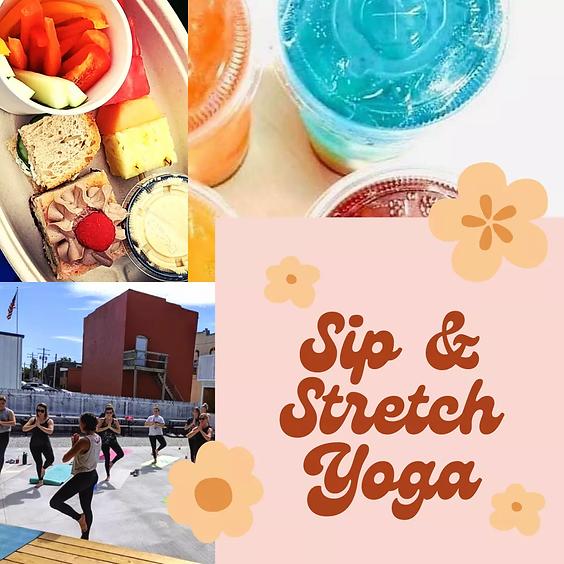 Sip & Stretch Easy Flow Yoga
