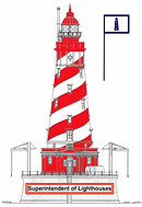 Superintendent of Lighthouses Rank Insig