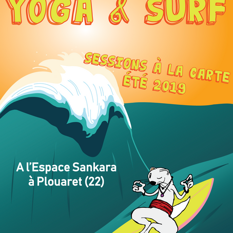 Sessions Yoga et Surf à la carte ETE 2019!