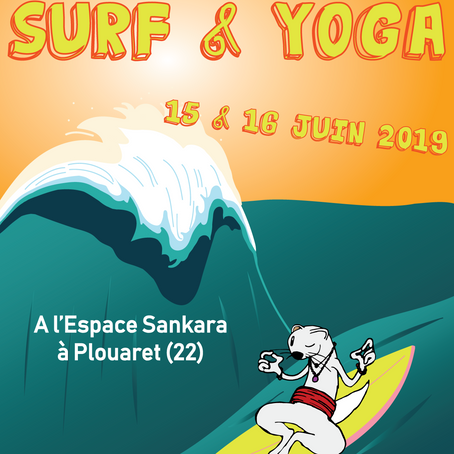 Stage Surf & Yoga du Samedi 15 au Dimanche 16 Juin 2019