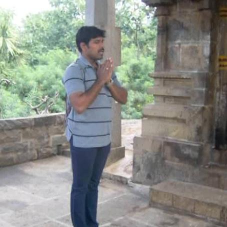 Souvenir d'arunachala en inde