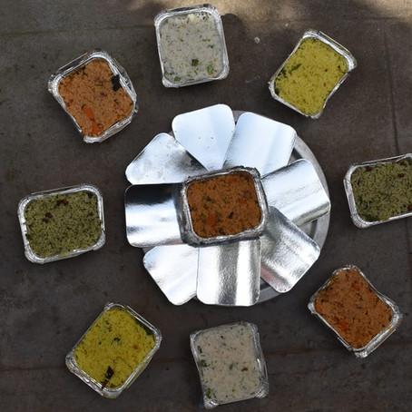 Collecte pour l'Inde, deuxieme étape : la distribution de nourriture!