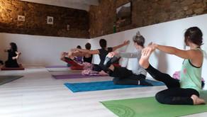 Stage de Yoga 3h le matin du mercredi 27 au vendredi 29 octobre 2021!