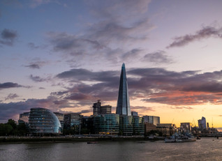 Southwark and The Shard. London.