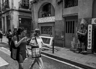 El Raval. Barcelona.