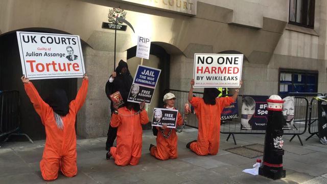 Freedom for Julian Assange.