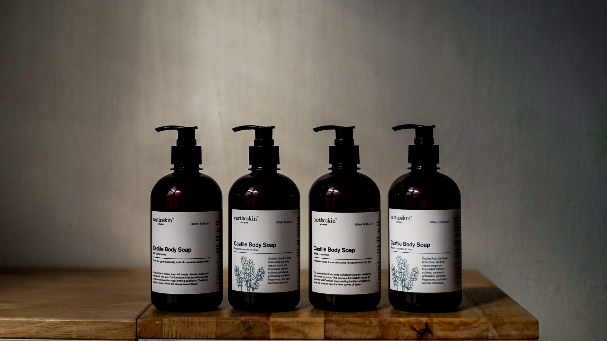 Castile Body Soap Collection