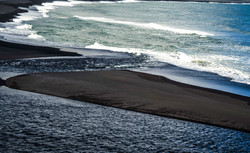 Black Beach patterns