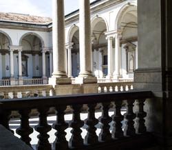 Courtyard In Rome.