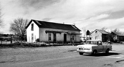 Old Car And Barn.