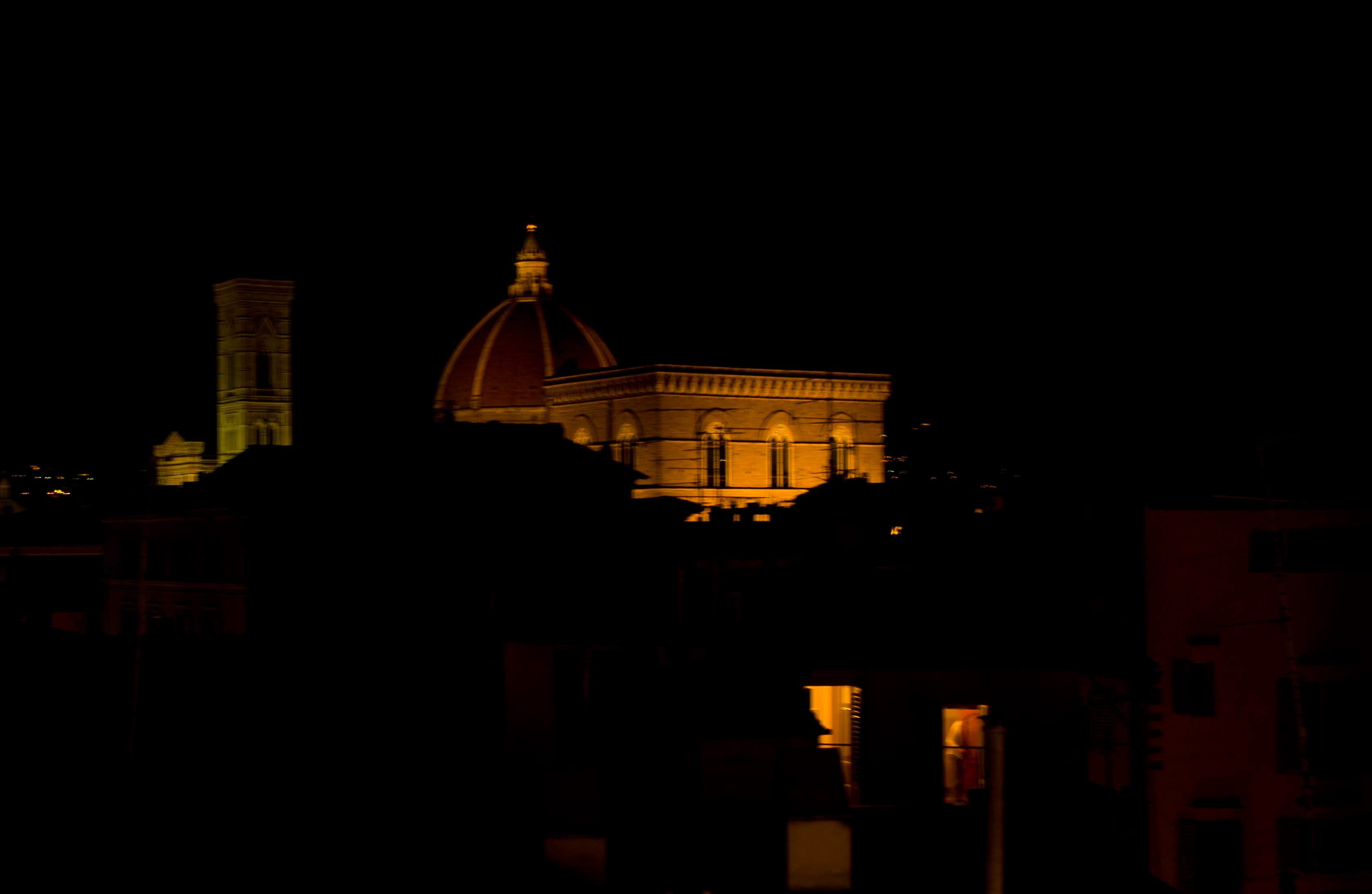 Florence at Night.