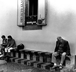 Tourit Sleeping In Orvieto.