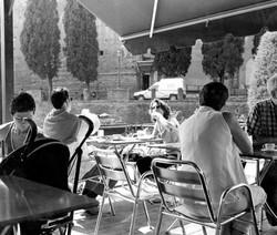 Cafe In Sienna.