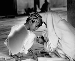 Playing In Mosque.