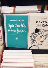 Spirituelle à ma façon en librairie
