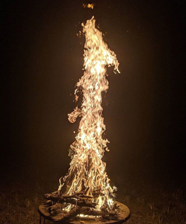 Final fire at Seeds of Sound 2018