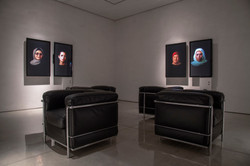 Installation view of …cairo stories