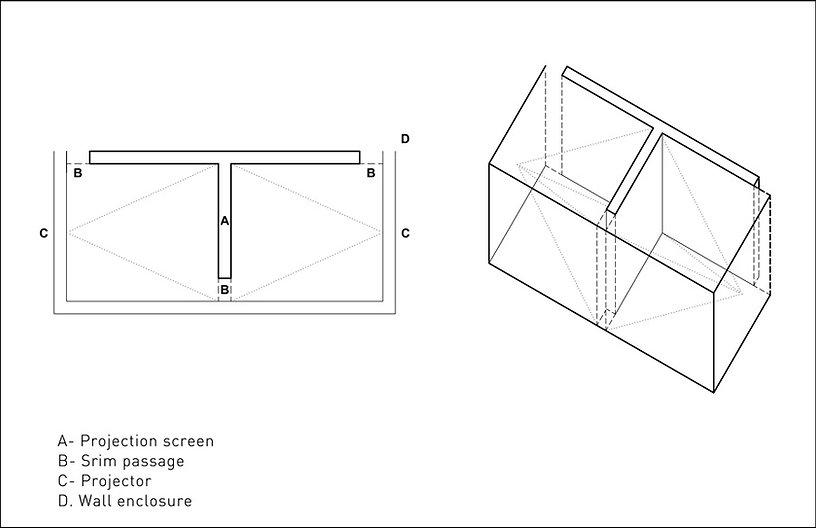 Judith Barry_Artist_Voice Off_Exhibition_diagram