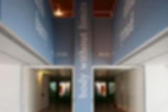 Judith Barry_Artist_entrance_Berardo Museum-Lisbon