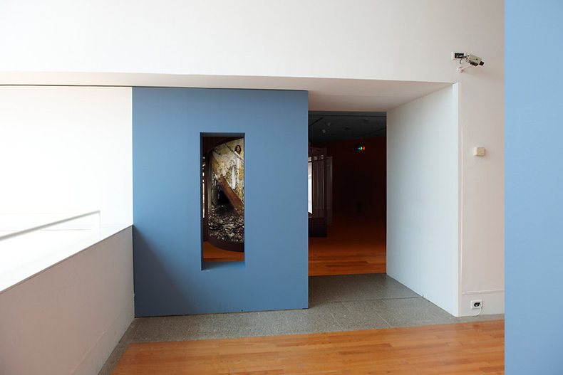 Judith Barry_Artist_Passage_entry_Work of the Forest_Berardo Museum-Lisbon 2010