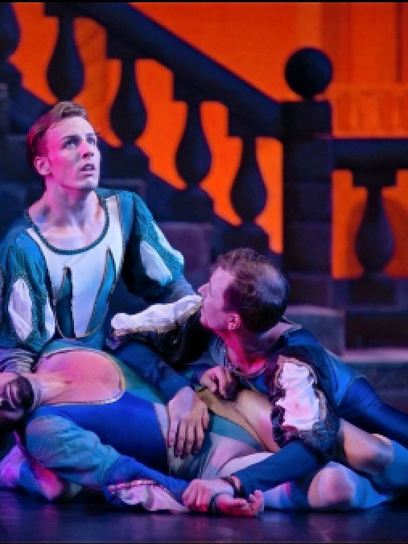 Monday Tybalt returns to Romeo after Mercuttio's death, and out of rage, Romeo fights him. Romeo ends up killing Tybalt, Juliet's cousin.