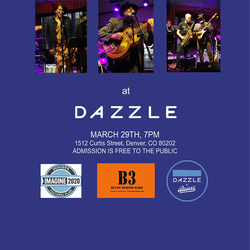 *POSTPONED UNTIL FURTHER NOTICE* - Dazzle (Denver) Songs from Behind Bars