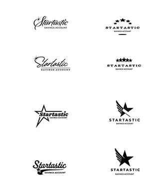 Startastic Savings Account logo exploration