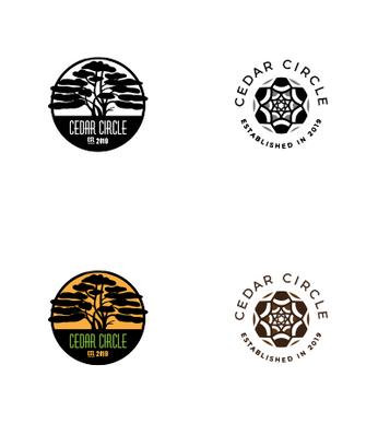Cedar Circle logo exploration