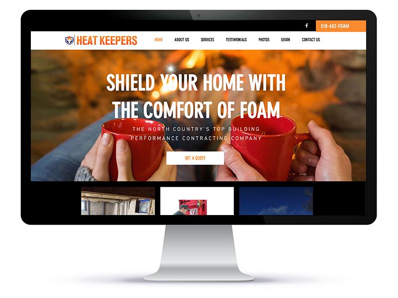 Heat Keepers website