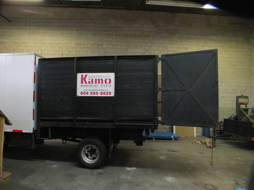 BEFORE dump box trailer 2 - kamo