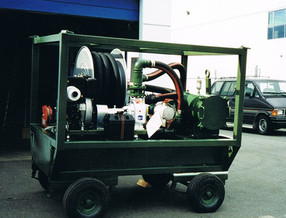 sanitation trailer
