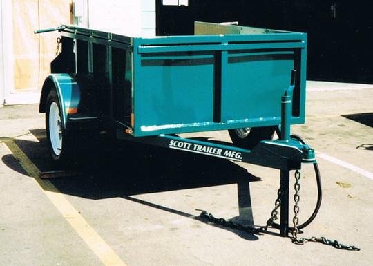 utility box trailer
