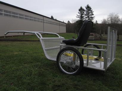 Handicap Horse cart trailer 1