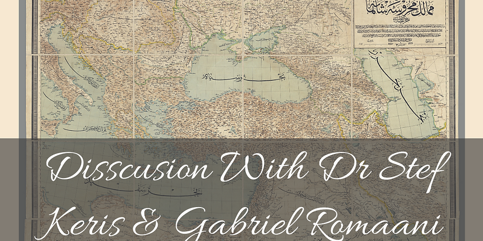 Discussion with Dr Stef and Gabriel Romaani Part 2