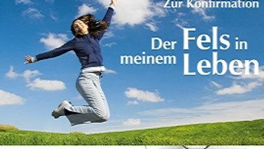 """CD Karte """"Du bist der Fels in meinem Leben"""" (Motiv Mädchen)"""