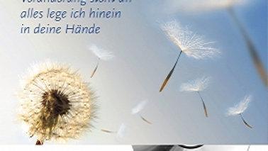 """CD Karte """"Alles lege ich hinein in deine Hände"""" (Veränderung steht an)"""