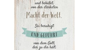 """CD Karte """"Sei gesegnet"""" Motiv Schrift"""