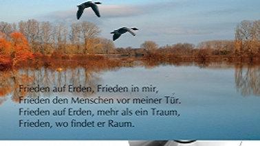 """CD Karte """"Frieden auf Erden"""""""