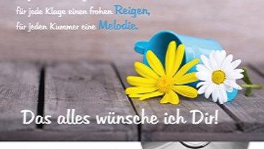 """CD Karte """"Das wünsch' ich Dir"""""""