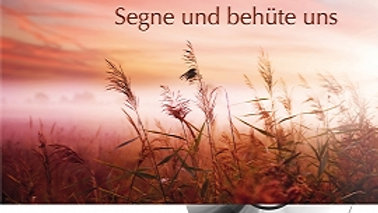 """CD Karte """"Segne und behüte uns"""""""