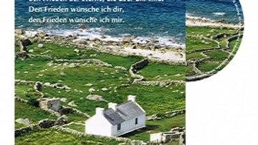 """CD Karte """"Irischer Segen"""""""