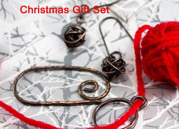 Knitting crochet gift set,  gifts for knitters, crochet gifts