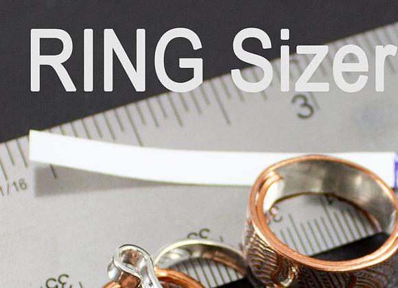 Ring Sizer, immediate PDF download