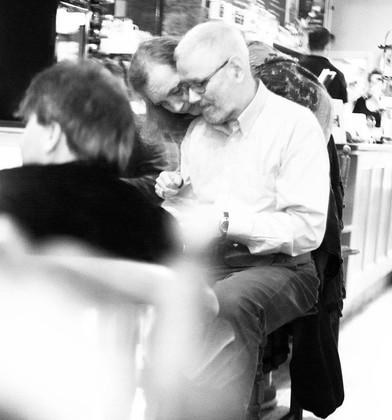 Collaboration with Simon Williams at Café Culture, Thrive Café, Totnes