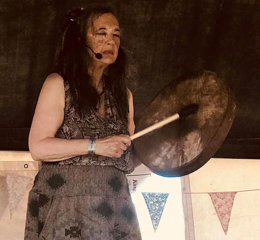 'La Loba Enchanting the Wild' at Glas-Denbury Music & Arts Festival(photo: David Greenwood)