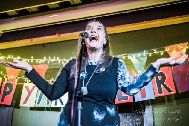 Hip Yak Poetry Slam at Trowbridge Brewery(photo: Kezabelle Amber)